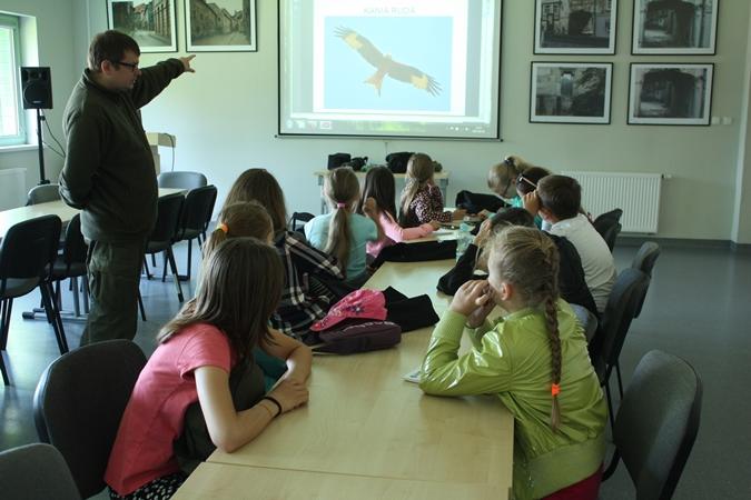 Wybrałeś obraz z artykułu: Młodzieżowa Grupa Badawcza w ZUOK Spytkowo!