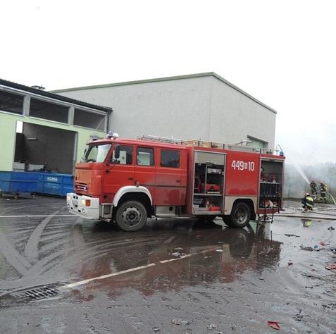 Wybrałeś obraz z artykułu: Ćwiczenia straży pożarnej na terenie instalacji
