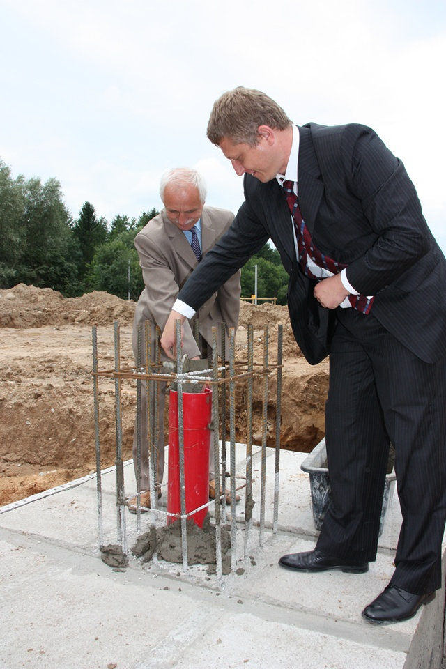 Wybrałeś obraz z artykułu: Oficjalna inauguracja budowy ZUOK Spytkowo