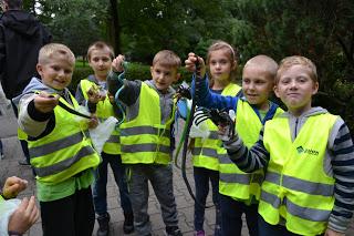 Wybrałeś obraz z artykułu: Uczniowie ZSO Wydminy w warszwskim ZOO